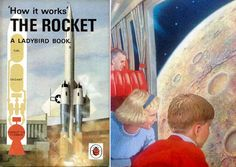Cover and inside image of How It Works, The Rocket