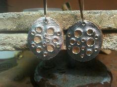 silver#earings#