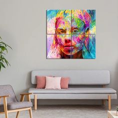 Yolandi Multi Panel Canvas Wall Art will inspire you to learn from your favorite public figure. Welcome this high-quality canvas print into your home, to express your personality and interests. Artist Canvas, Artist Painting, Artist Art, Oil Painting On Canvas, Canvas Wall Art, Canvas Prints, Create Canvas, Indie Art, Wall Art Designs
