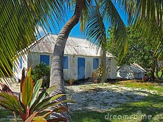 """Grand Cayman - Cayman Islands. """"Miss Lassie's"""" house. A traditional style home, now the subject of a restoration and preservation effort. #Caribbean #Cayman #Photographs"""