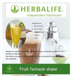 Fruit fantasie shake