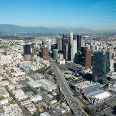 Los Angeles #photography #aerial Downtown