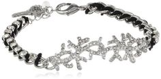 "Betsey Johnson ""Iconic Blue Sea"" Crystal Coral Bracelet, 8.5"" Betsey Johnson,http://www.amazon.com/dp/B00CDLAKGI/ref=cm_sw_r_pi_dp_aTdfsb0T4JHMCKC6"