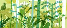 luke best, sketch for wallpaper design
