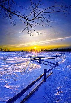Prairie Sunset, Saskatchewan, CANADA