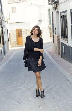 el blog de bárbara crespo. personal shopper madrid, fashion stylist & fashion blogger: TOTAL BLACK