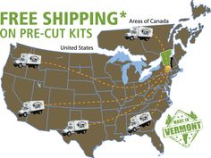 Shipping Kits *Free in the continental US + eastern Canada. See website for full details. Or call our in house staff toll free 1-866-297-3760 for questions :) http://jamaicacottageshop.com/free-shipping/ #jamaicacottageshop