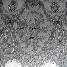 2019 Luxury wedding gowns lace fabric eyelash chatilly lace | Etsy Wedding Lace, Wedding Show, Lace Weddings, Bridal Lace, Luxury Wedding, Wedding Gowns, Fabric Beads, Lace Fabric, Lace Embroidery