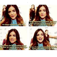 Lucy ships Ezria my life is complete. on We Heart It Preety Little Liars, Pretty Little Liars Quotes, Pretty Little Liars Characters, Spencer Hastings, Pll, Most Romantic, Best Shows Ever, Pretty Girls, We Heart It