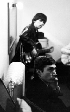 A very young Charlie Watts