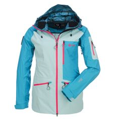 Kilpi, Kally, ski jas, heren, blauw,zwart • SkiWebShop