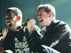 Linkin Park Chester Bennington and Mike Shinoda