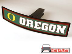 Oregon Ducks Trailer Hitch Cover Illuminated NCAA Officially Licensed by tailtalker on Etsy