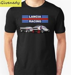 Sale! #Lancia #Rally - #GroupB Print #TShirts 100% cotton - free shipping - Rally In Motion