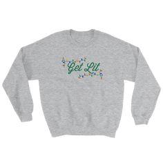 Get Lit Sweatshirt - The VinePair Store