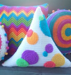 """triangle pillow - GREAT FOR WGYC.ORG!! *** The """"We've Got You Covered"""" Website (wgyc.org) is not working. So visit their FACEBOOK PAGE: """"We've Got You Covered - A LAMOPH patriotic project"""" for more info."""