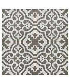 Capturing the artisanal look of cement tile, the Merola Tile Berkeley Blue Encaustic in. Ceramic Floor and Wall Tile offers an encaustic, old-world design that can blend into any decor. Bathroom Floor Tiles, Tile Floor, Modern Bathroom, Vintage Bathroom Tiles, Floor Tiles Hallway, Hall Tiles, Green Bathrooms, Entry Tile, Dyi Bathroom