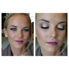 Bold lip color | sultry eyes | Dallas brides | bridal makeup | makeupbywendyzerrudo.com