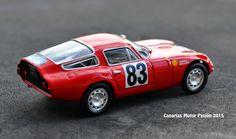 carlo chiti alfa | El ALFAROMEO TZ , concebido como coche deportivo urbano y de alta ...