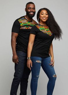 Couples African Outfits, African Wear Dresses, African Clothing For Men, African Shirts, Latest African Fashion Dresses, Couple Outfits, African Print Fashion, African Attire, Africa Fashion
