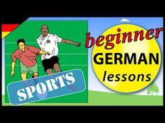 Sports in German   Beginner German Lessons for Children - YouTube