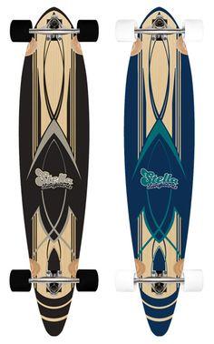 Stella Pintail Longboard Skateboard