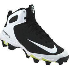 0c77ea2180c3 Nike Alpha Huarache Mid Gs Baseball Cleats - Boys Black White White