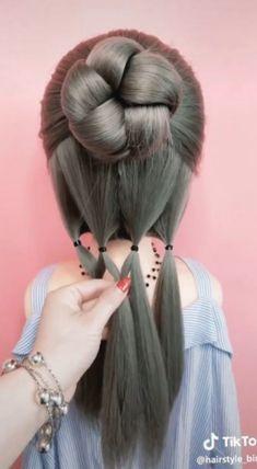 ✔ Hairstyles Prom Videos Shoulder Length #longhairdontcare #hairdo #haircolour