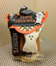 Stampin' Up! Halloween  by Faith, Trust and Pixiedust: Spooktacular S'mores