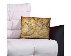 Vintage Maps, Php, Throw Pillows, Home, Collections, Toss Pillows, Decorative Pillows, Decor Pillows, Scatter Cushions