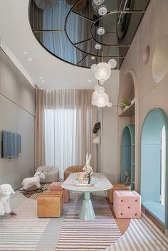 Kids Bedroom Designs, Room Design Bedroom, Room Ideas Bedroom, Kids Room Design, Baby Room Decor, Home Interior Design, Home Design, Daycare Design, Pastel Interior