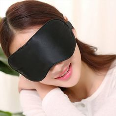 Foruiston Natural Silk Sleep Mask Premium Quality Blindfold - Sleeping Mask With 100% No Light Leakage - Soft Eye Mask Shades Allow Deep Relaxation and Improves Your Sleep Quality >>> Trust me, this is great! Click the image. : Skin care