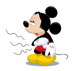 LINE Official Stickers - Mickey Mouse Polite Stickers Example with GIF Animation Mickey Mouse Videos, Mickey Mouse Pictures, Mickey Mouse Cartoon, Mickey Mouse And Friends, Mickey Minnie Mouse, Cute Patterns Wallpaper, Cute Disney Wallpaper, Hungry Gif, My Little Pony Stickers