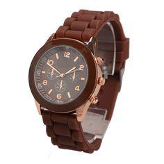 Casual Watch Women Dress Watch Quartz Military Silicone Watches Unisex Wristwatch Sports Watch relogio feminino Hi
