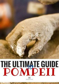 The bodies recovered from Pompeii are some of the most striking reminders of the lost city. Check out the Walks of Italy guide to visiting Pompeii.