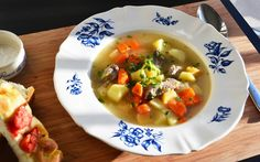 The Hirshon Icelandic Meat Soup - Kjötsúpa - ✮ The Food Dictator ✮ Paleo Recipes, Soup Recipes, Cooking Recipes, Norwegian Food, Scandinavian Food, Winter Soups, Soups And Stews, Lamb