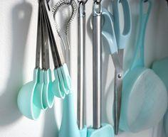 Duck Egg blue baking utensils | Flickr - Photo Sharing!