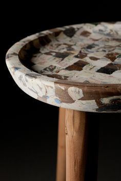 Müll: Objects Made From Recycled Plastic Trash - Design Milk Sustainable Furniture, Sustainable Design, Recycled Plastic Furniture, Recycled Plastic Products, Recycling Furniture, Repurposed Furniture, Plastic Waste, Plastic Bags, Plastic Recycling