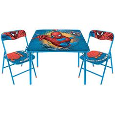 Spider-Man Table and Chairs Set