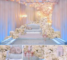 Malay Modern Reception Pelamin YP92 Garden Folie 135092
