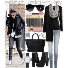 Marcher à Londres avec Harry
