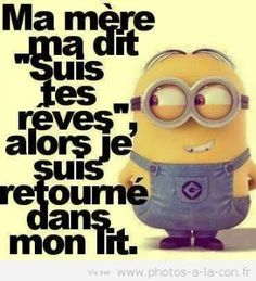 Les minions ont tout compris à la vie - Marija Walkowiak - Enjoy Girls Cute Funny Quotes, Funny Picture Quotes, Funny Photos, Minions Quotes, Jokes Quotes, Funny Facts, Funny Jokes, Minion Humour, Funny Minion