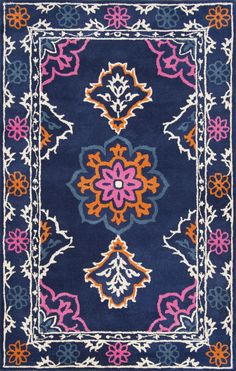handwoven wool cotton classic style kilim rug by hanna