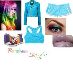 """Rainbow Dash"" by louisa-tomlinson on Polyvore"