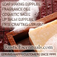 visit Rustic Escentuals!    How to make soap without lye.   (You can't.)