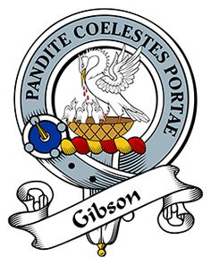 Gibson Family Crest apparel, Gibson Coat of Arms gifts