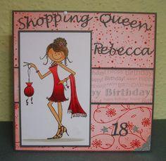 Stempeln-macht-Spass: Shopping-Queen