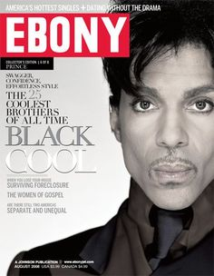 Prince - Ebony Magazine (August 2008)