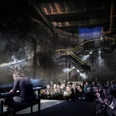 Brunel's first project to become London's latest underground venue