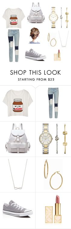 """""""weekends be like"""" by cookie2314 on Polyvore featuring Simon Miller, FOSSIL, Bony Levy, Converse and Tory Burch"""